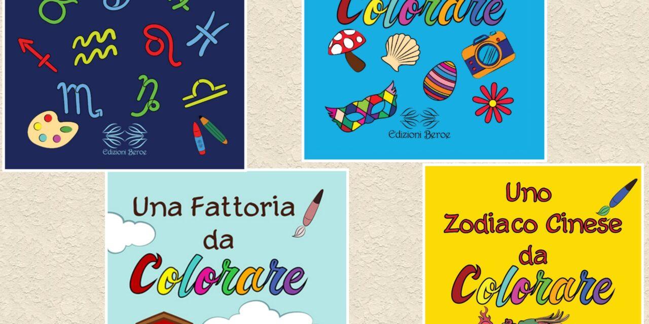 """Cofanetto di quattro libri da colorare """"Tesoro segreto""""  (Edizioni Beroe)"""