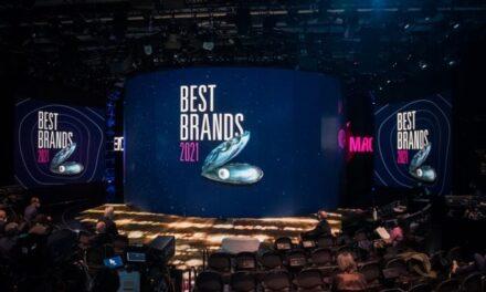 Assegnati i premi ai marchi italiani più amati durante il Best Brands 2021