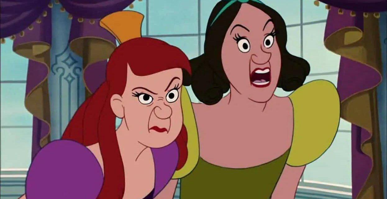 Annunciato il film Disney sulle sorellastre di Cenerentola