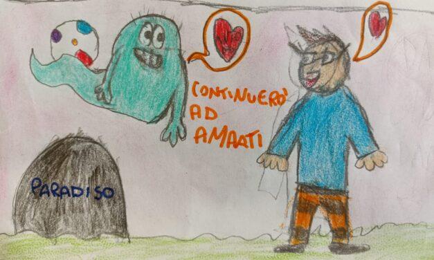 Il ricordo dei bambini della II A Tauro per il papà del loro compagno di classe