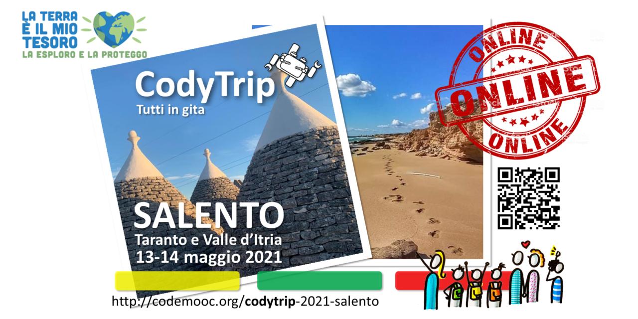 Il 13 e 14 maggio CodyTrip in Puglia, gita virtuale da record