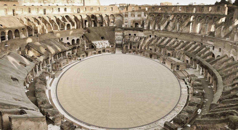 Ecco il nuovo Colosseo a Roma. Svelata la nuova arena