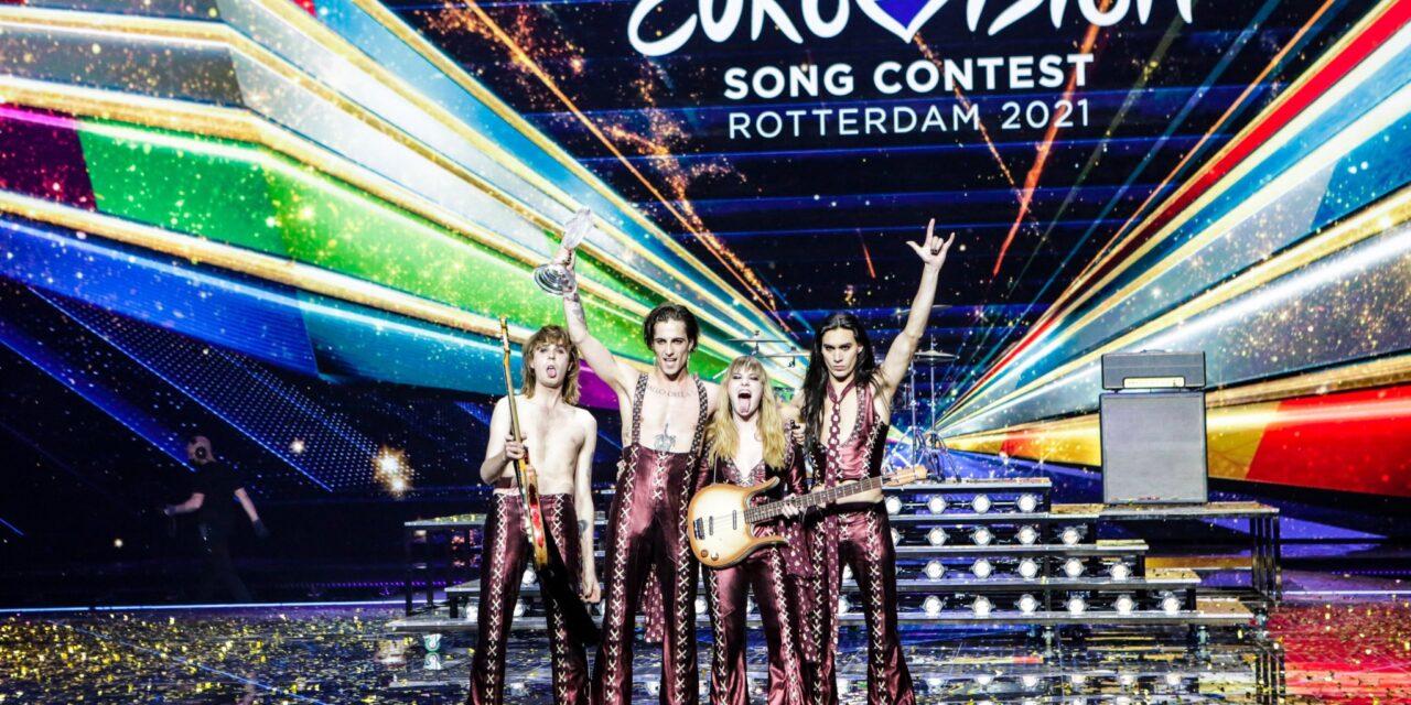L'Italia trionfa con i Maneskin all'Eurovision Song Contest 2021