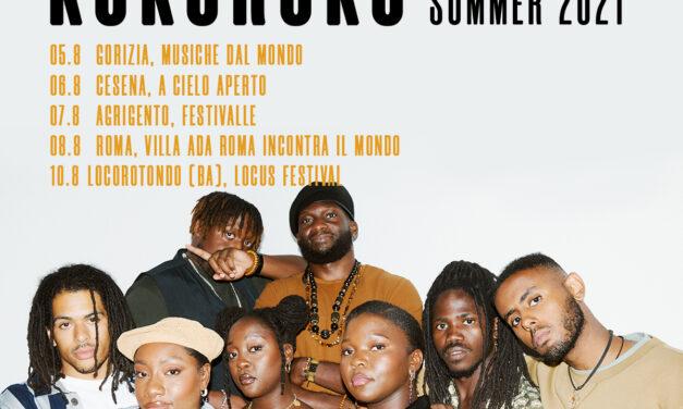 I KOKOROKO dal 5 agosto in Italia per il loro tour estivo