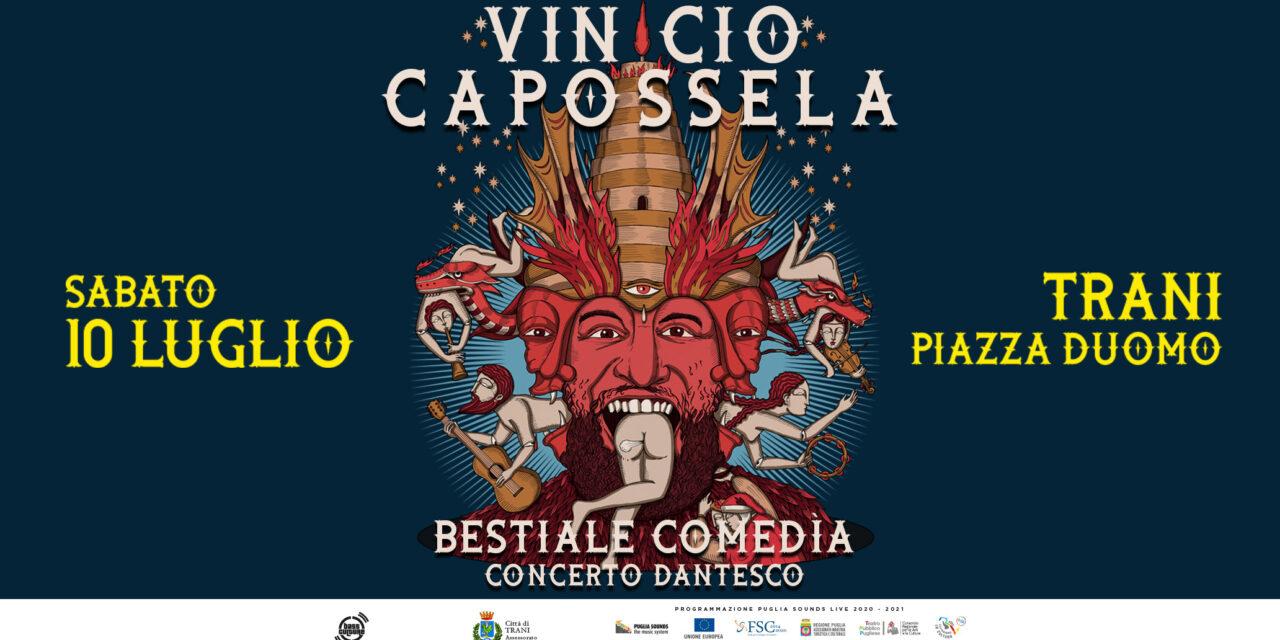 A Trani il 10 e 11 luglio si celebra Dante con Capossela e Claver Gold & Murubutu