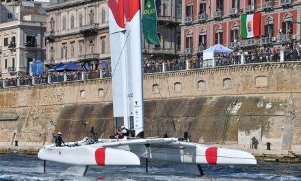 Japan SailGP Team vince a Taranto l'Italy Sail Grand Prix