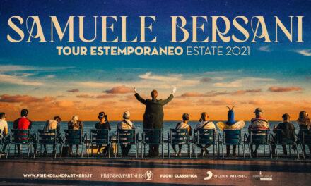 """Il 19 agosto a Trani Samuele Bersani in """"Tour estemporaneo"""""""