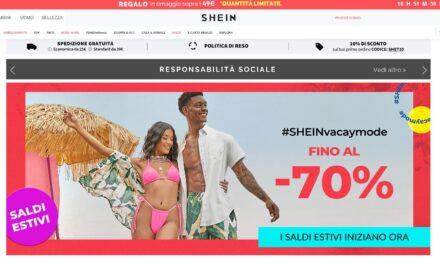 Si chiama Shein l'Amazon della generazione Z