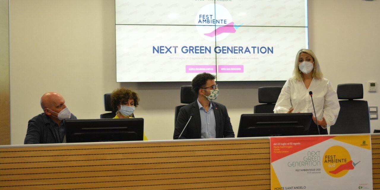 Presentata la XVII edizione di FestambienteSud: Next Green Generation