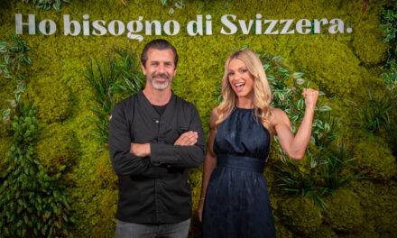 In viaggio con Michelle Hunziker, nuova ambasciatrice di Svizzera Turismo dal cuore green