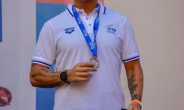 Sul podio ai campionati europei di Duathlon in Romania il barese Giancarlo Candiano Tricasi