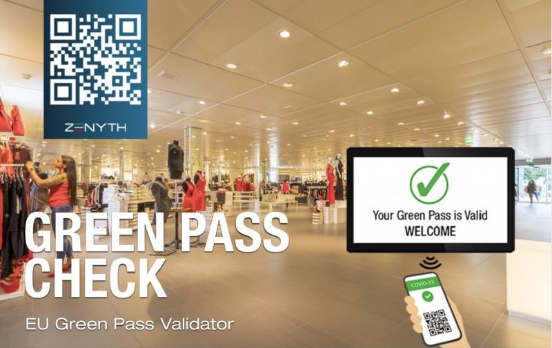 Zenyth lancia il GP-Check per la lettura Green Pass senza operatore