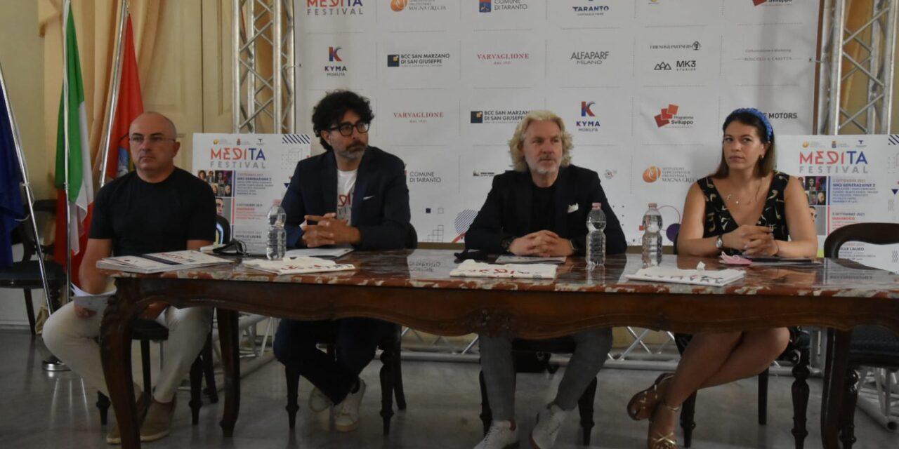 Medita Festival. Dal 2 al 5 settembre a Taranto Mahmood, Achille Lauro ed Edoardo Bennato