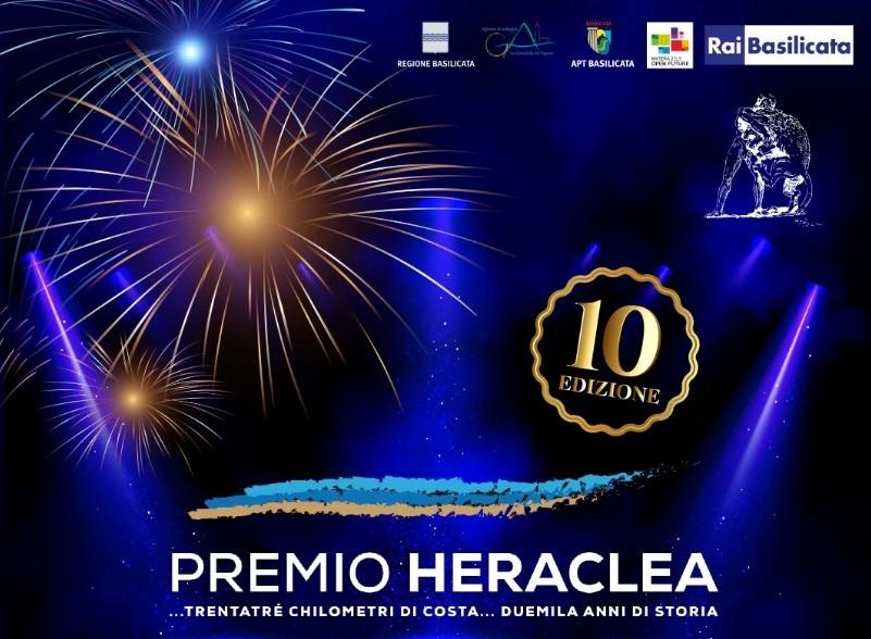L'8 agosto a Scanzano Jonico la decima edizione del Premio Heraclea