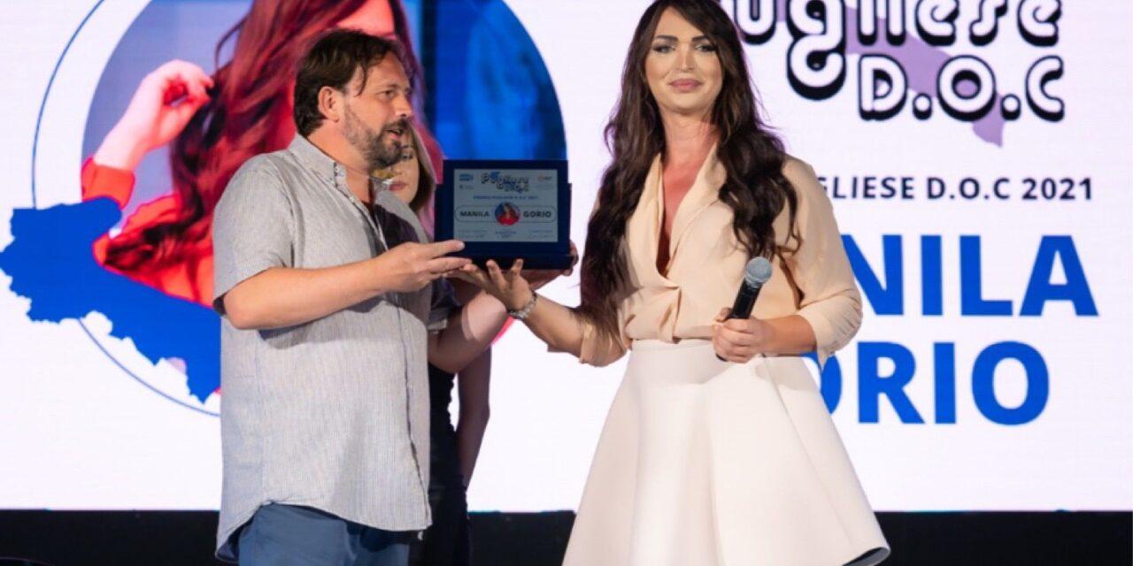 A Manila Gorio il premio come miglior conduttrice del Sud Italia