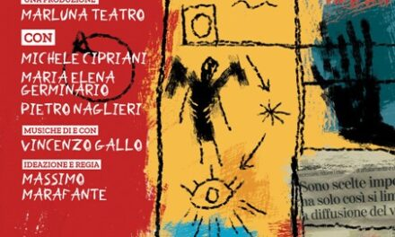 """Parte da Trani l'8 settembre """"Passeggeri sulla collina"""" la tournée di Marluna Teatro"""