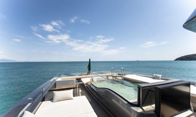 Splendido il nuovo Motor Yacht Panam di 40m della Baglietto