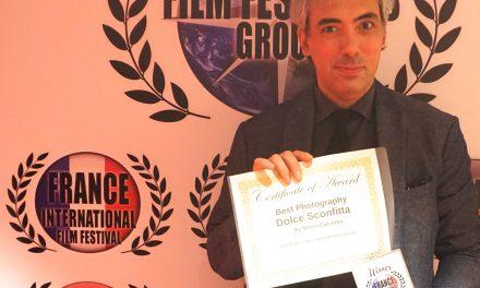 """Marco Cucurnia premiato con la miglior opera fotografica al France International Film Festival con """"Dolce  sconfitta"""""""