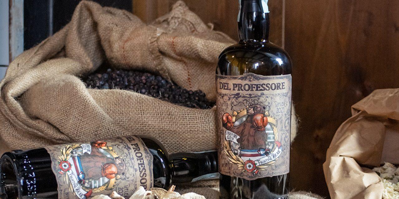"""E' nato """"The Fighting Bear"""", il primo London Dry Gin firmato Del Professore"""