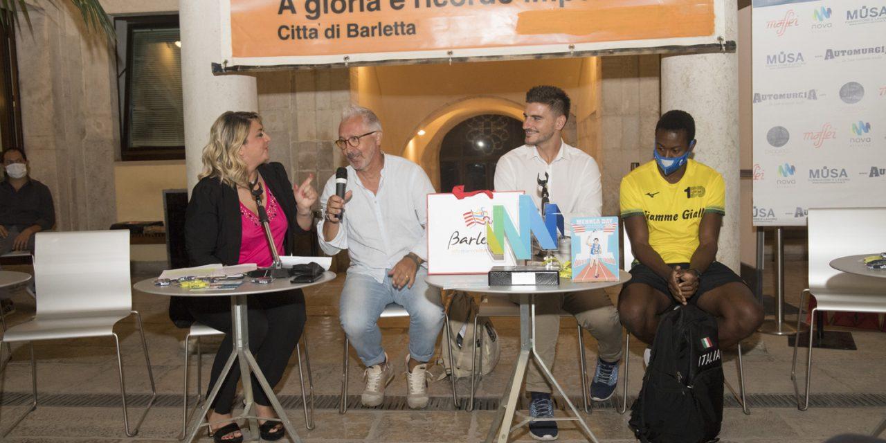 """Presentato a Barletta il """"Mennea day"""" con il campione olimpico Fausto Desalu"""