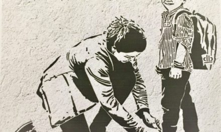 """Il 1° ottobre si presenta murales ideato e realizzato dagli alunni della """"De Marinis"""" a Carbonara"""
