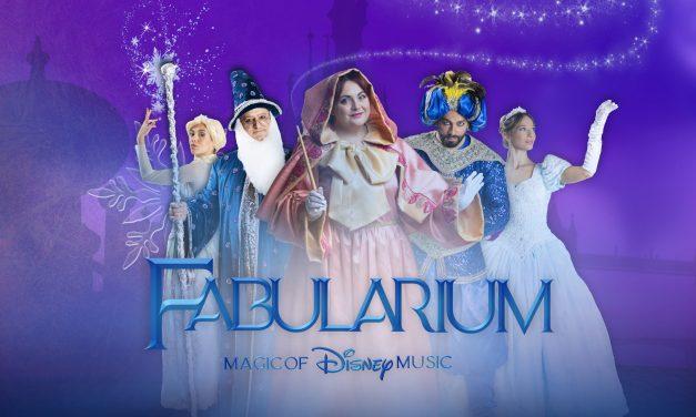 """Prima nazionale del Musical """"FABULARIUM – MAGIC OF DISNEY MUSIC"""" il 23 ottobre da AncheCinema"""
